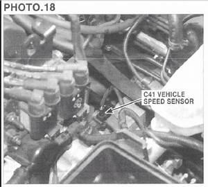 Vehicle Speed Sensor  2005 Kia Spectra Front Wheel Drive