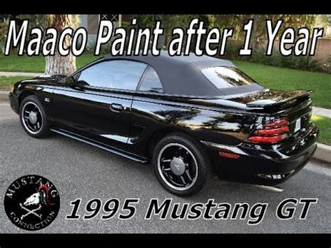 You get what you pay for, and painting a car is surprisingly expensive. Maaco Paint Job 1 year later 1995 Ford Mustang GT ...