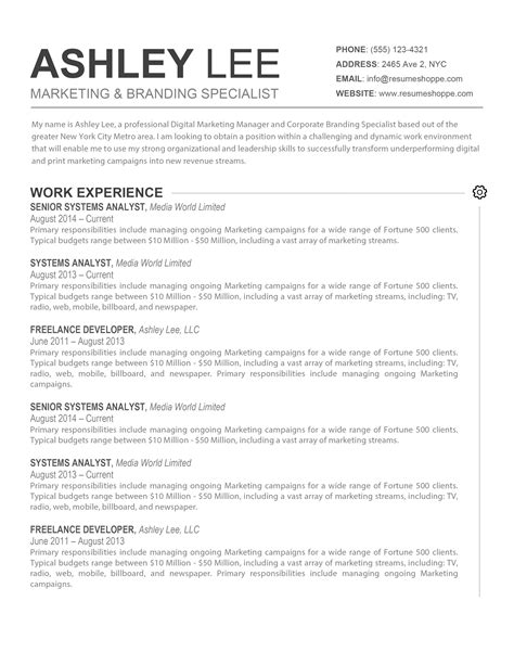 resume title meaning in resume ideas