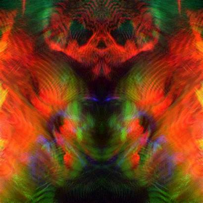 Trippy Protobacillus Fractal Illusion Bright Turn Eyes