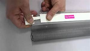 Faire Une Moustiquaire : remplacer une toile de moustiquaire enroulable youtube ~ Premium-room.com Idées de Décoration