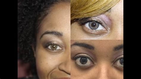 hazel color contacts comparing freshlook colorblends grey green hazel and