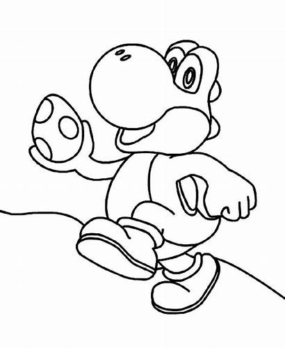 Yoshi Coloring Wwe Mario K5worksheets Run Worksheets