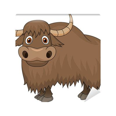 yak cartoon wall mural pixers    change