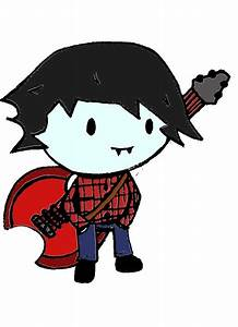 Adventure time Marshall lee Chibi by RadaCola on DeviantArt