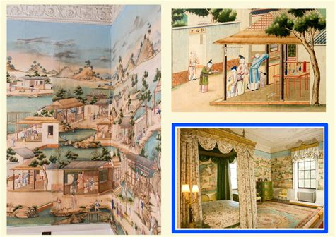 hand painted wallpaper chinoiserie wallpaper silk