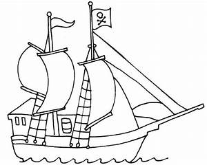 Pirate template clipart best for Pirate ship sails template