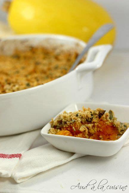 crumble d automne au potimarron sans beurre aud 224 la cuisine