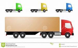 Cargo truck illustration stock vector. Image of cargo ...
