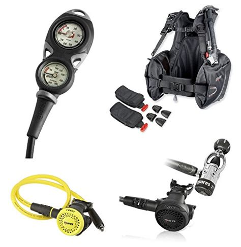 scuba diving gear packages  level