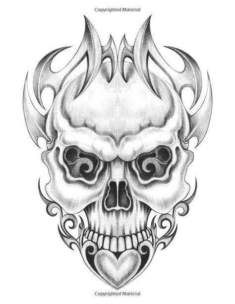 Amazon.com: Skulls Coloring Book (9781545036099): Karlon