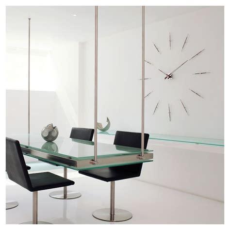 pendule de cuisine moderne horloge design cuisine 3d bricolage muette miroir mural