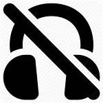Headphones Icon Mute Headset Listen Sound Audio