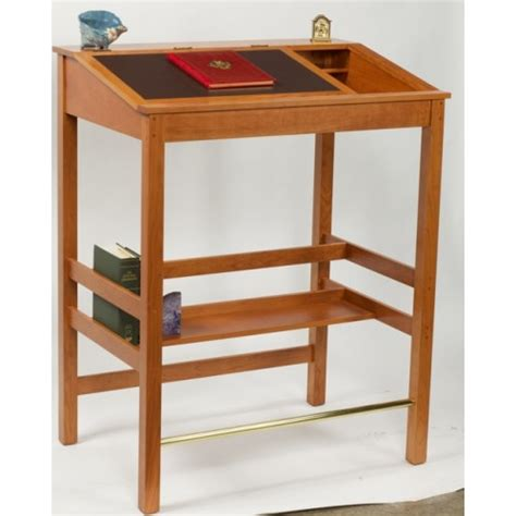 wood stand up desk thomas jefferson stand up desk