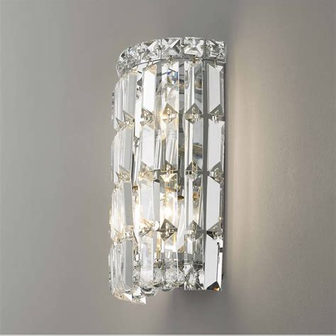 w23510c6 cascade 2 light chrome finish with clear crystal