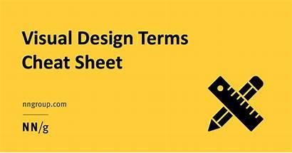 Cheat Sheet Visual Terms