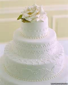 martha stewart weddings style white wedding cakes