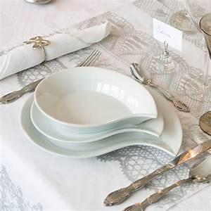 Service De Table Complet Pas Cher : service de table noir et blanc design ~ Melissatoandfro.com Idées de Décoration