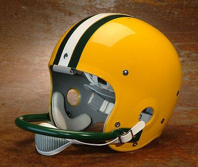green bay packers style nfl vintage suspension football