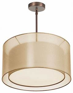 Light melissa double drum pendant modern