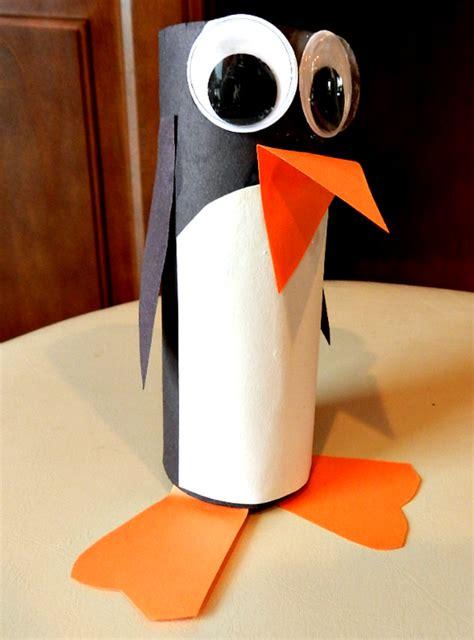 pingouin rouleau papier toilette activit 233 manuelle hiver 5 id 233 es adapt 233 es aux loupiots de la maternelle