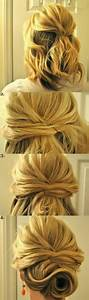 Chignon Cheveux Mi Long : chignon bas facile cheveux mi long ~ Melissatoandfro.com Idées de Décoration