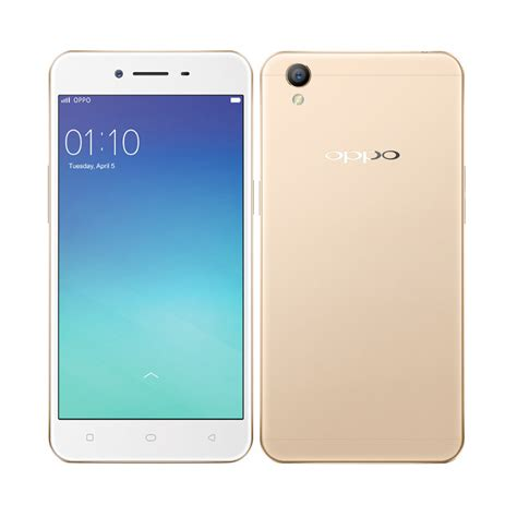 Jual Oppo A37 (Neo 9) Smartphone Gold 16GB/ 2GB + Free