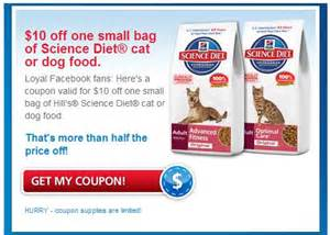 science diet cat food coupons mailout coupons canada 10 hill s science