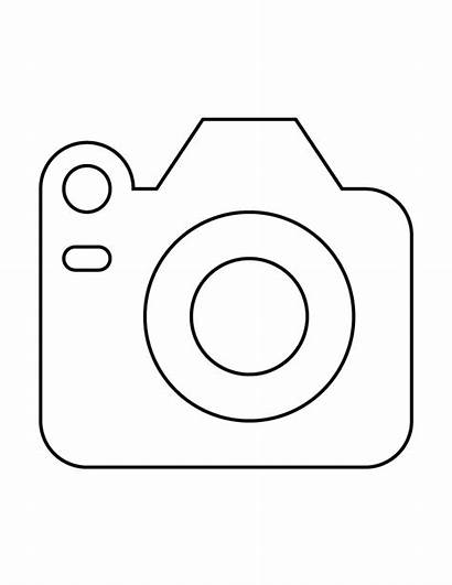 Camera Coloring Pages Printable Sheet Adults Popular