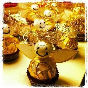 Bastelideen Weihnachten Erwachsene : weihnachten ferrero rocher engel basteln weihnachten ~ Watch28wear.com Haus und Dekorationen