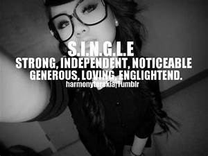 Single Girl Swag Quotes tumblr - http://cutequotespictures ...