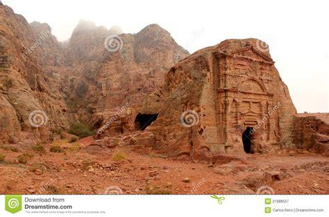 Royal Tomb In The Lost Rock City Of Petra Jordan Royalty