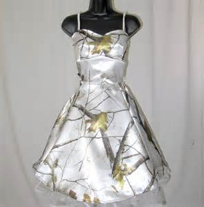 snow camo wedding dresses satin camouflage dress by ravenbombshell on etsy