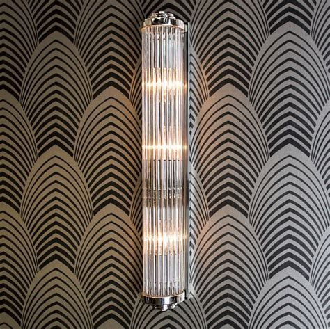 (850a) Gatsby Art Deco Wall Light (large)  Eames Lighting