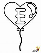 Coloring Pages Alphabet Valentine Number Easy Letter Valentines Printable Balloon Sheet Print Hearts Alphabets Yescoloring Children sketch template