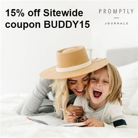 Promptly Journals Coupon : 15% off Sitewide code BUDDY15 ...