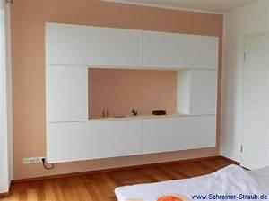 Schlafzimmer und ankleiden schreiner straub for Hängeschrank schlafzimmer