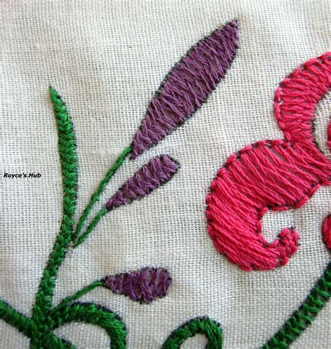 embroidery stitches royce s hub basic embroidery stitches herringbone stitch