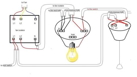 bathroom fan isolator switch wiring diagram somurich