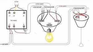 Bathroom Fan Isolator Switch Wiring Diagram