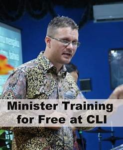 Minister Training For Free At Cli