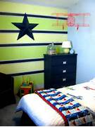 Organizing August Featured Space Bedroom Switchin 39 Things Up Boys Room Ideas Cool Paint Color For Boys Room Cool Paint Color Ideas Striped Walls Boys Bedroom Finished Painting A Boys Bedroom 18 Joyous Paint Color Ideas For Boys Rooms