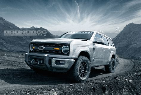 2019 Ford Bronco Images by 2020 Ford Bronco To Get 325 Hp 2 7l Ecoboost V6 According