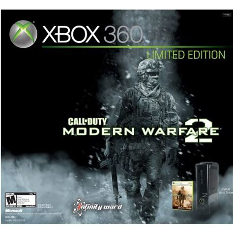xbox  modern warfare  limited edition console