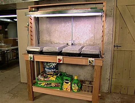 build  indoor outdoor planting  potting bench
