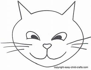 cat face template clipartsco With caterpillar mask template