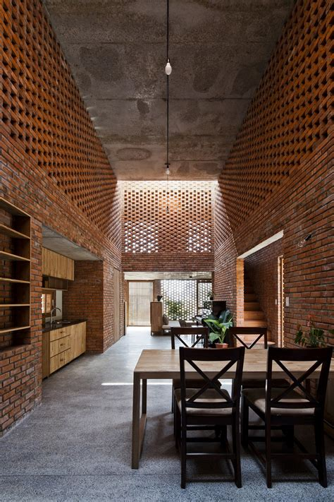 brick termitary house shaped   extreme climate  da