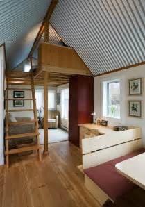 small home interior floating guest house