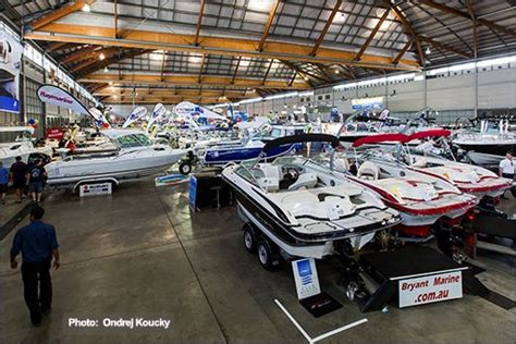 Show Boat Trailer by Sydney Trailer Boat Show 2015 Sydney
