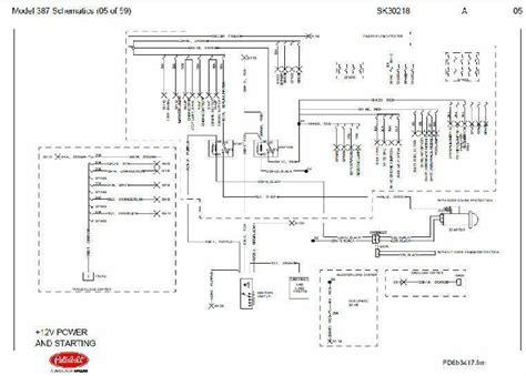 Wiring Schematic by Before Oct 15 2001 Peterbilt 387 Complete Wiring Diagram